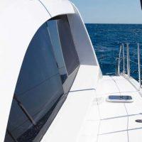 Catamaran for hire